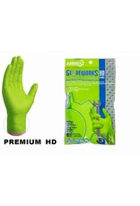 Gloveworks Nitrile HD Green Gloves 6 pack