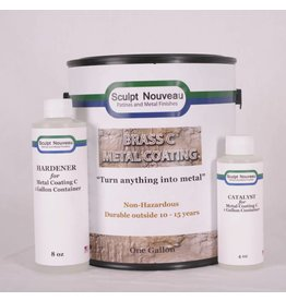 Sculpt Nouveau C Metal Coat Brass Gallon Kit