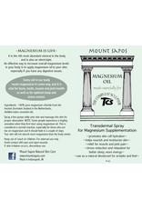 Mount Sapos Magnesium Oil Rub 4 oz.