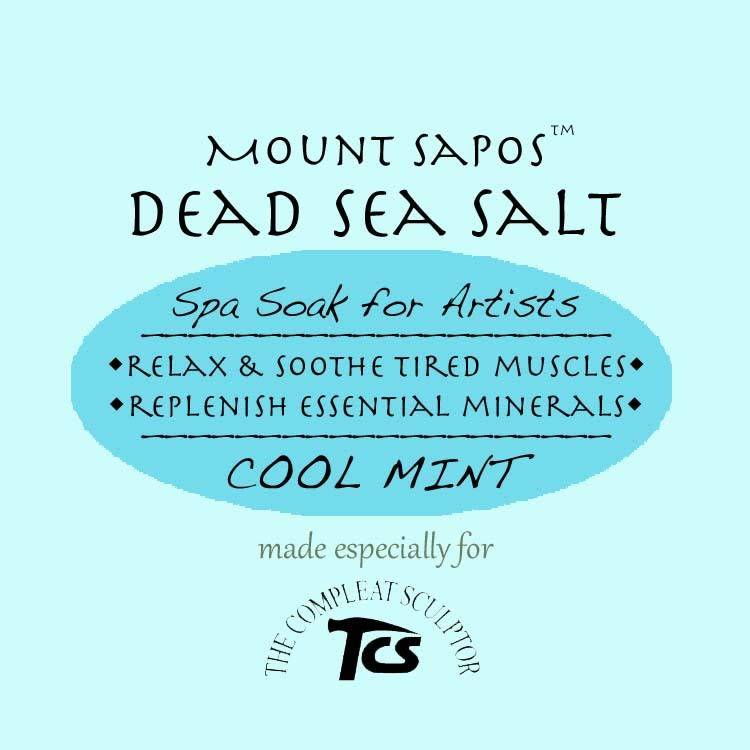 Mount Sapos Dead Sea Bath Salts Cooling, 6 oz
