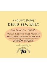 Mount Sapos Dead Sea Bath Salts Warming, 6 oz