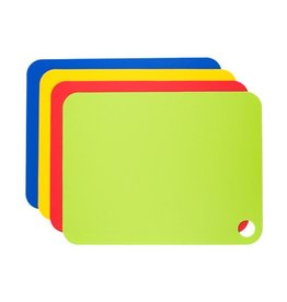 Tovolo Large Flexible Cutting Mats – Set of 4