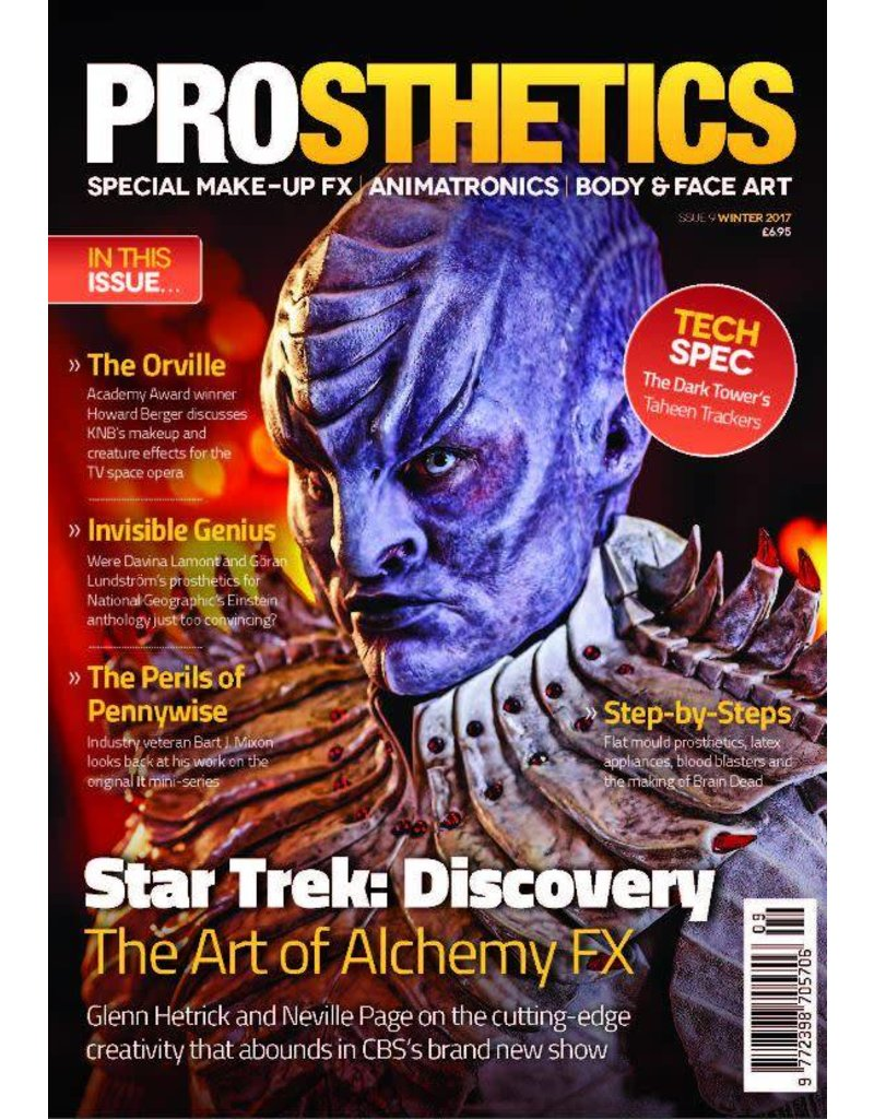 Gorton Studios Prosthetics Magazine #9