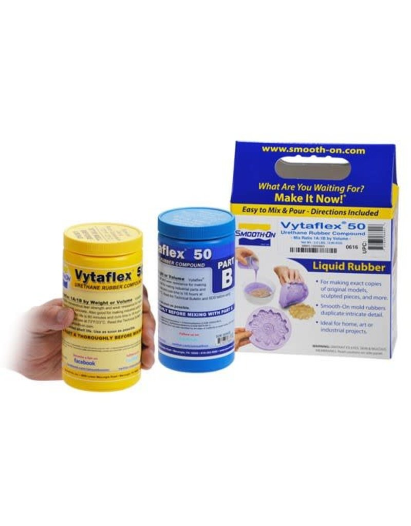 Smooth-On VytaFlex 50 Trial Kit Special Order