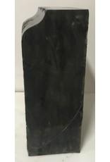 Stone 77lb Belgian Black Marble 13x8x6 #001004