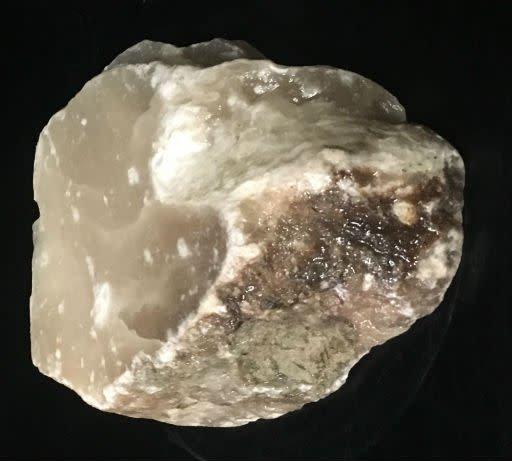 Stone 4lb Italian Agate 6x5x1 #231063