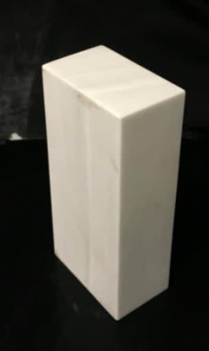 Marble Base 10x4.75x3 White Carrara #991016