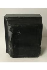 Stone 72lb Black Belgian Marble 12x11x6 #001007