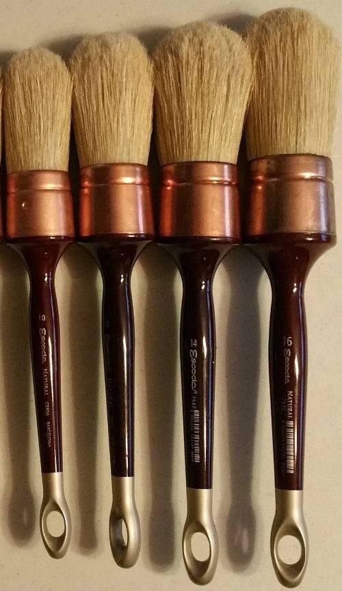 Just Sculpt Patina Brushes