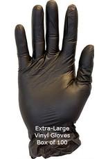 Vinyl Gloves Black