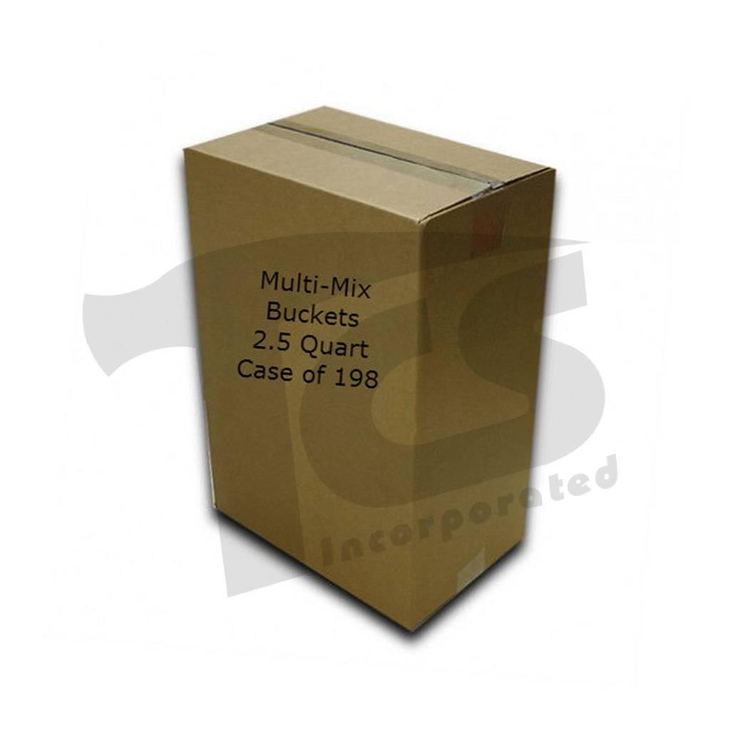 Just Sculpt Multi-Mix Bucket 2.5 Quart (Case of 198)