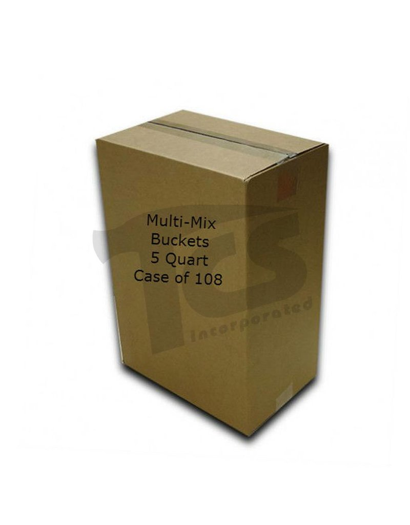 Just Sculpt Multi-Mix Bucket 5 Quart (Case of 108)