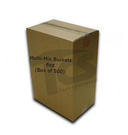 Just Sculpt Multi-Mix Bucket 6oz (Case of 500)