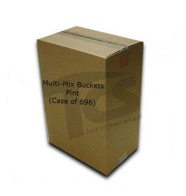 Just Sculpt Multi-Mix Bucket Pint (Case of 696)