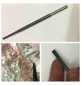 Milani Steel Pneumatic Flat 08mm (7mm Shank)