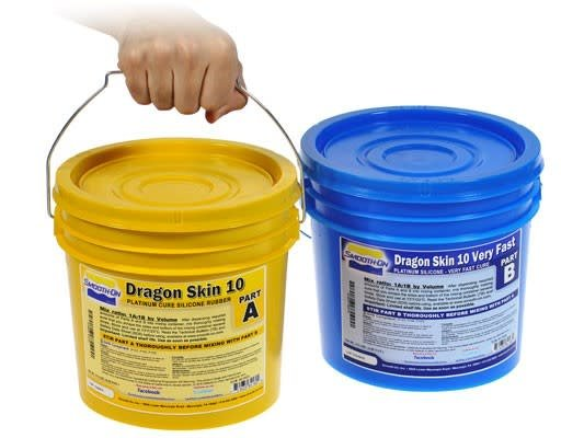 Smooth-On Dragon Skin 10 Very Fast (2 Gallon Kit)