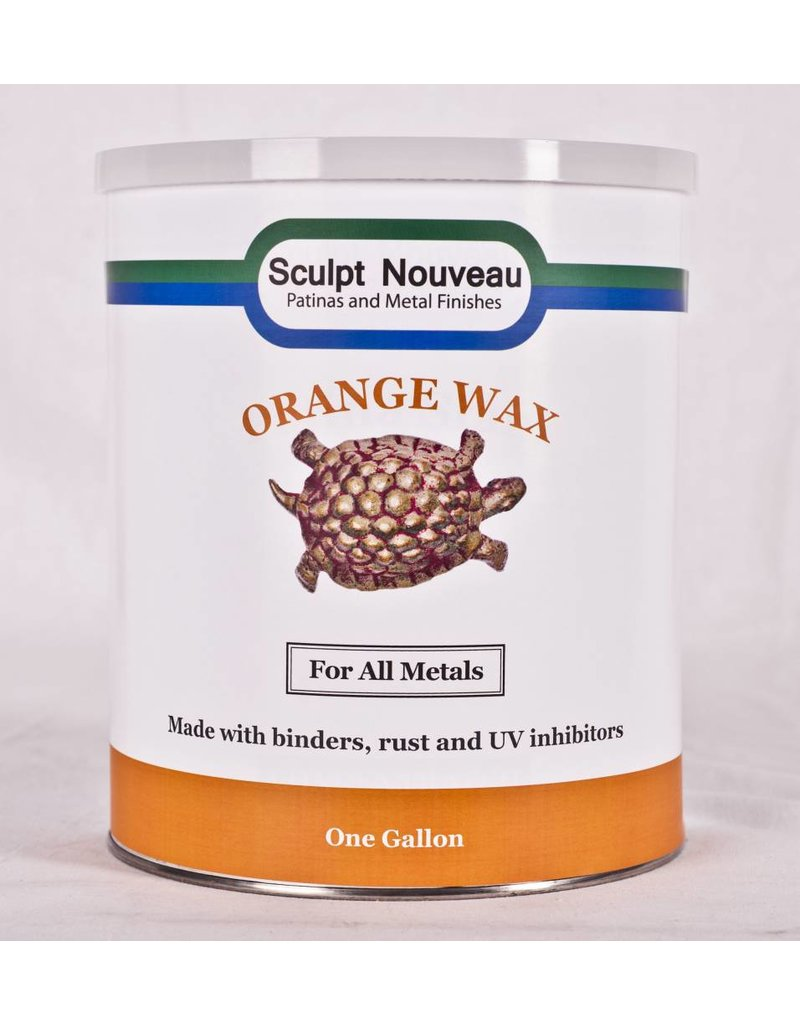 Sculpt Nouveau Metal Wax Orange Gallon Special Order