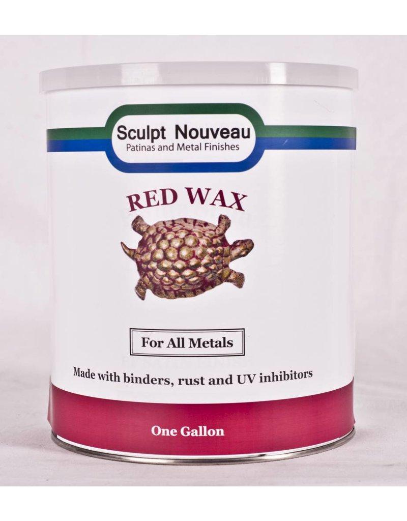Sculpt Nouveau Metal Wax Red Gallon Special Order