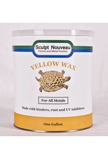 Sculpt Nouveau Metal Wax Yellow Gallon Special Order