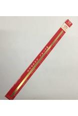 K & S Engineering Brass Strip .016''x1/4''x12'' #8230
