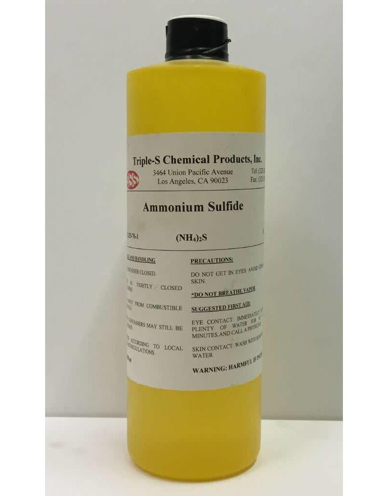 Just Sculpt Ammonium Sulfide Solution (NH4)2S 500ml