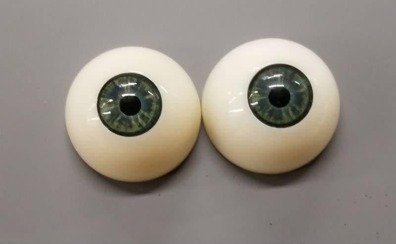 Just Sculpt Acrylic Eyes 30mm Green (Pair)