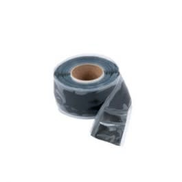 "Self-Sealing Silicone Tape 1"" x 10' Black"
