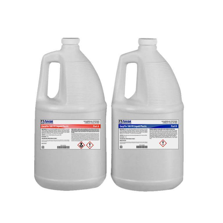 Polytek EasyFlo 100 FR 2 gallon kit