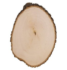 Wood Basswood Country Rounds: 13 x 17.5