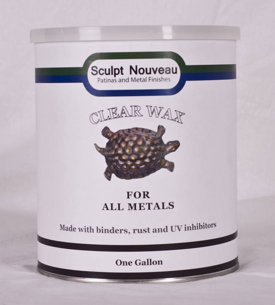 Sculpt Nouveau Metal Wax Clear Gallon