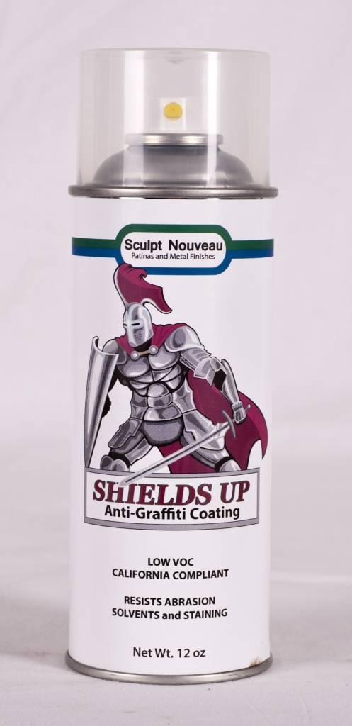 Sculpt Nouveau Shields Up Anti-Graffiti Coating 12oz Spray Can