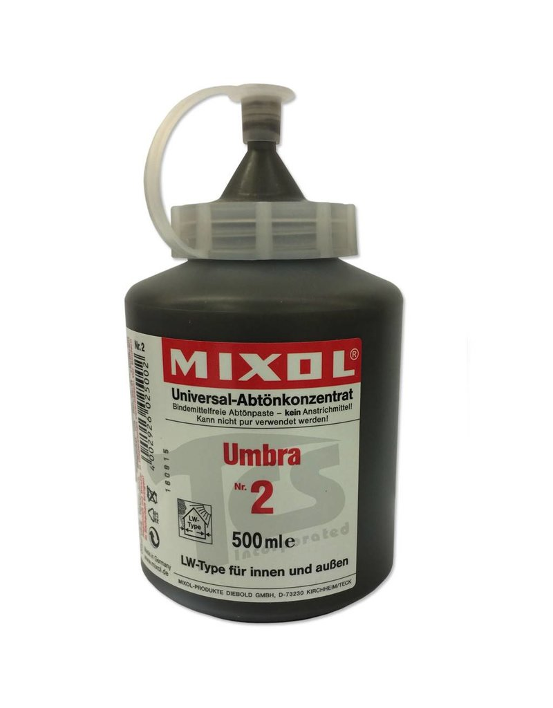 Mixol #02 Umber (all sizes)