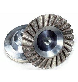 Just Sculpt 4in Sintered Turbo Diamond Grinding Wheel Medium