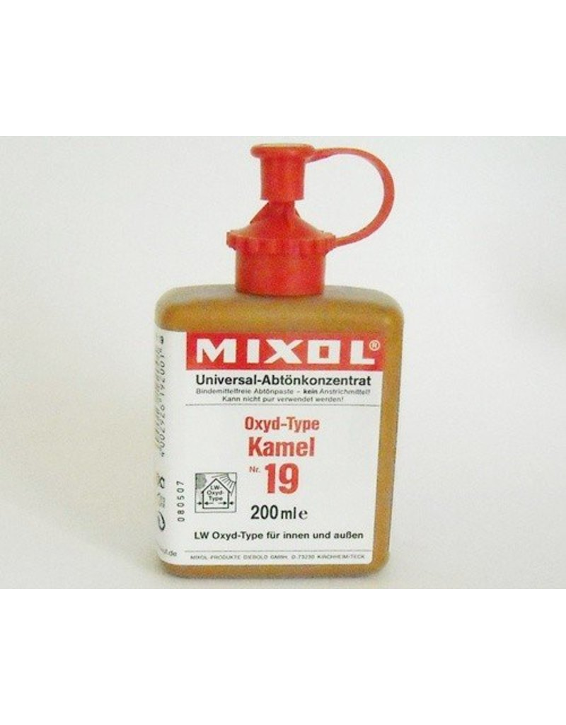 Mixol #19 Oxide Camel (all sizes)