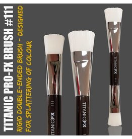 Titanic FX Pro-FX Brush 111 - Double-ended Splatter Brush