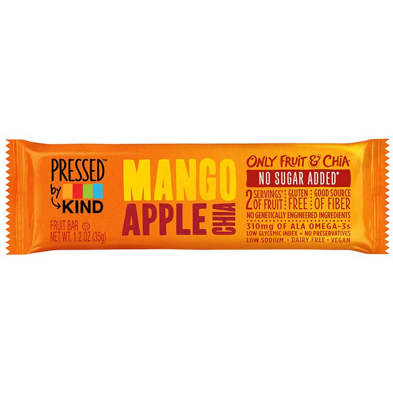 KIND® Bar Pressed Mango Apple chia