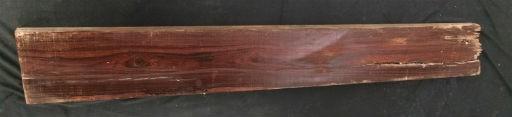 "Wood Brazillian Rosewood Plank 43""x5""x2"" #161003"