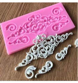 Just Sculpt Architectural Detail 157 Silicone Mold