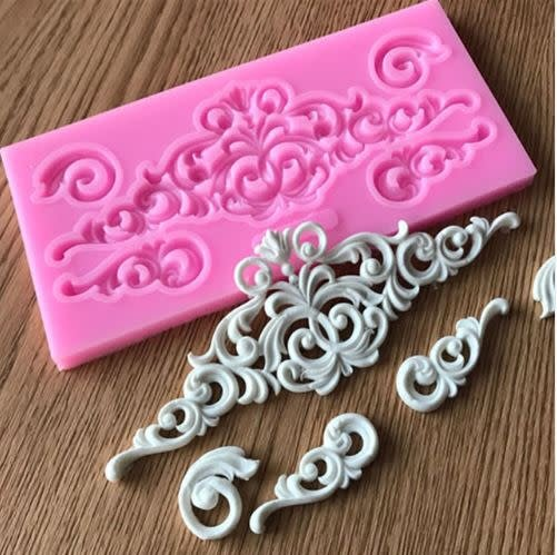 Just Sculpt Silicone Mold Architectural Detail 157