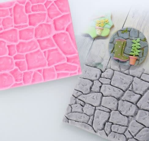 Just Sculpt Silicone Mold Stone Wall