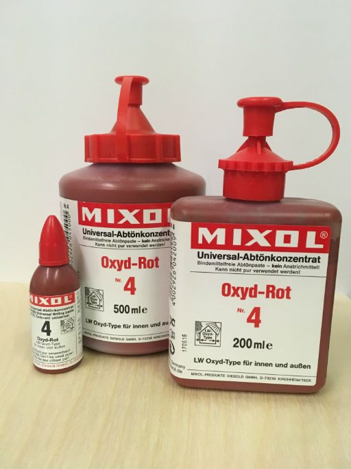 Mixol #04 Oxide Red (all sizes)