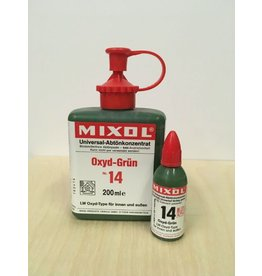 Mixol #14 Oxide Green (all sizes)