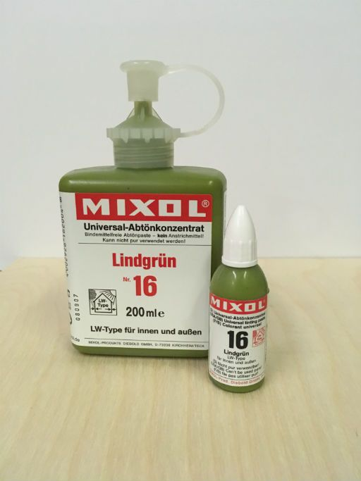 Mixol #16 Lime Green (all sizes)