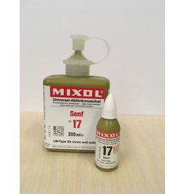 Mixol #17 Mustard (all sizes)