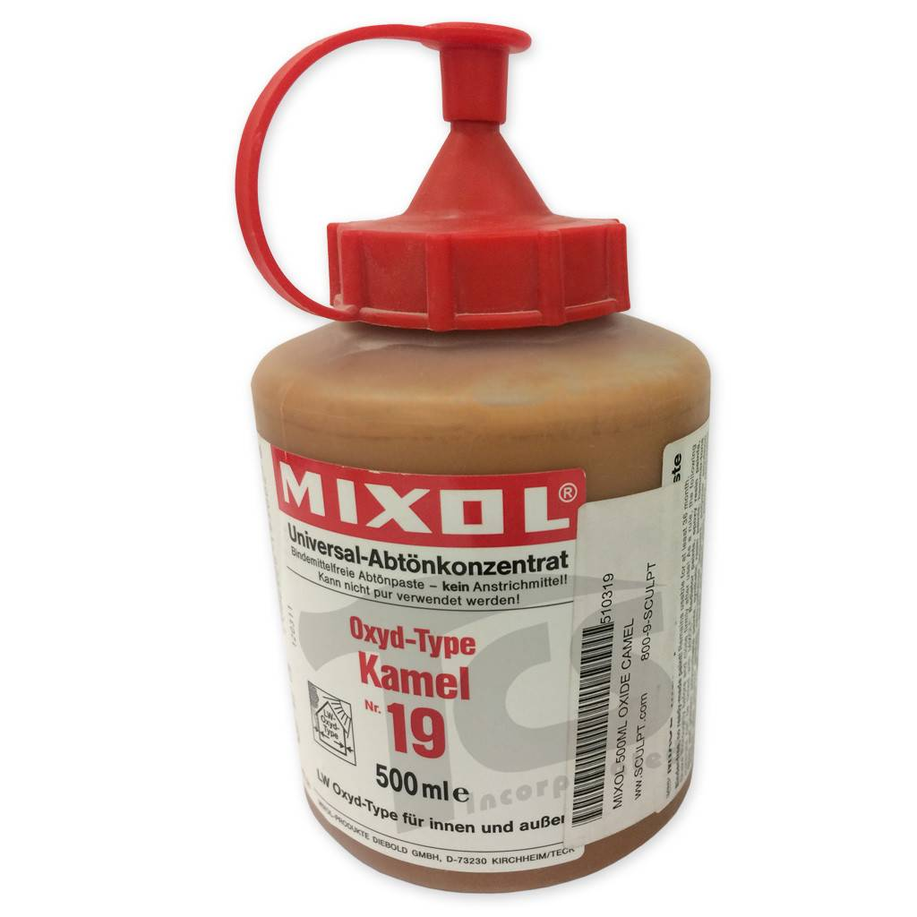 Mixol #19 Oxide Camel (all sizes)