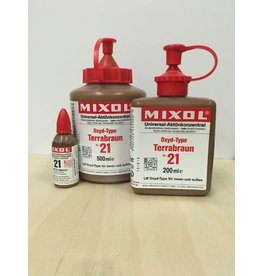 Mixol #21 Oxide Terracotta Brown (all sizes)