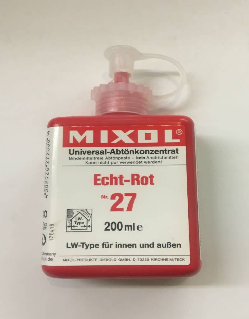 Mixol #27 True Red (all sizes)