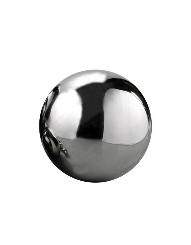Just Sculpt Silver Mirror Finish Stainless Steel Sphere 05cm (2in)