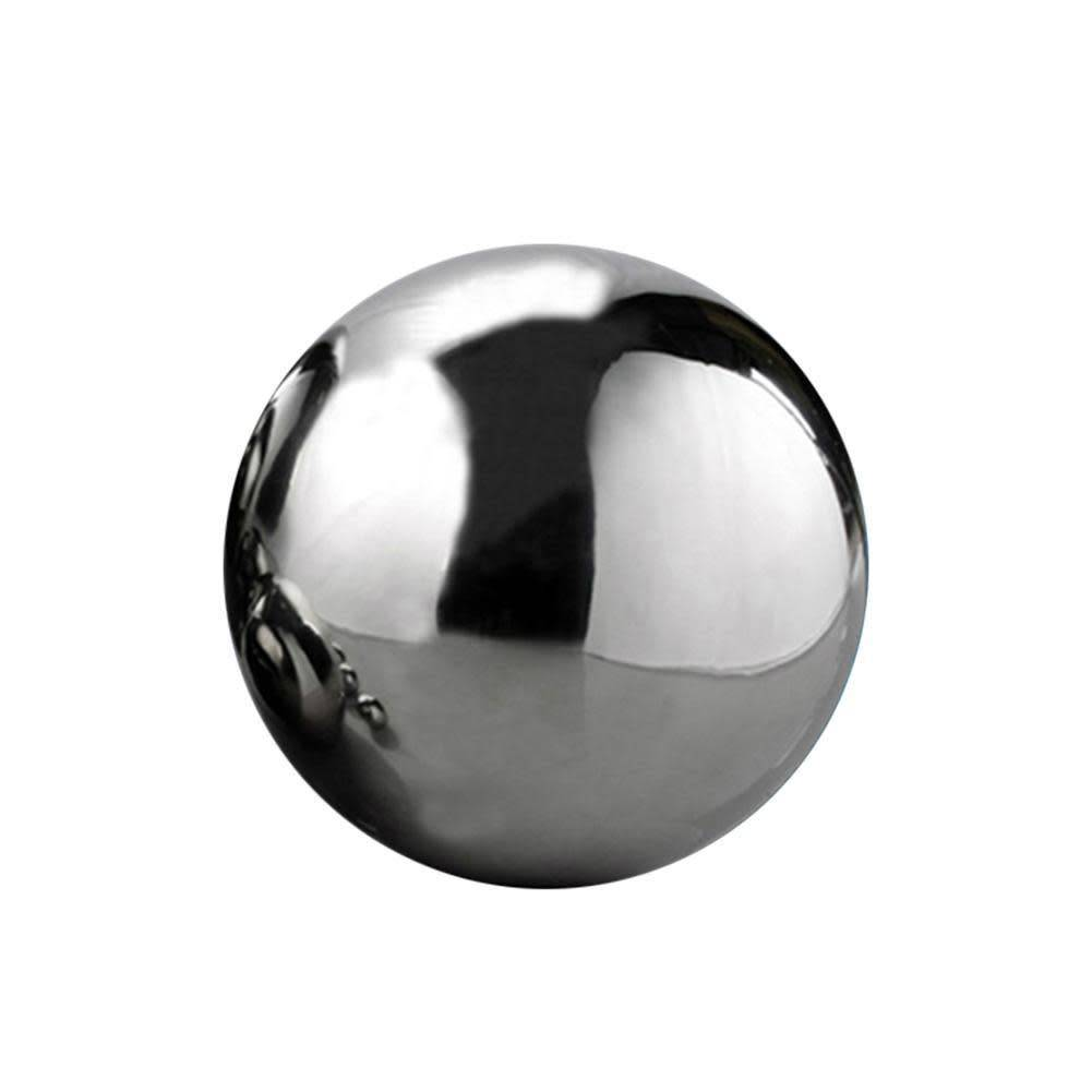 Just Sculpt Silver Mirror Finish Stainless Steel Sphere 8cm (4in)