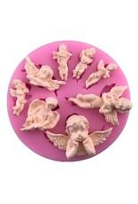Just Sculpt Silicone Mold Cherub